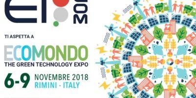 Ecomondo – Rimini dal 6 al 9 novembre 2018