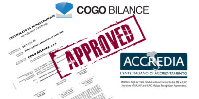 Cogo Bilance accreditamento ISO 17025